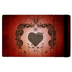 Wonderful Heart With Decorative Elements Ipad Mini 4 by FantasyWorld7