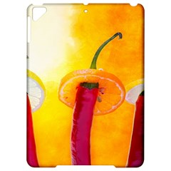 Three Red Chili Peppers Apple Ipad Pro 9 7   Hardshell Case by FunnyCow