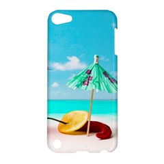 Red Chili Peppers On The Beach Apple Ipod Touch 5 Hardshell Case by FunnyCow