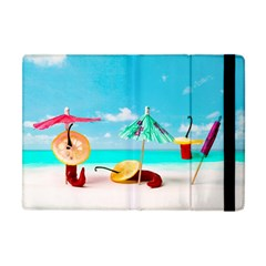 Red Chili Peppers On The Beach Apple Ipad Mini Flip Case by FunnyCow