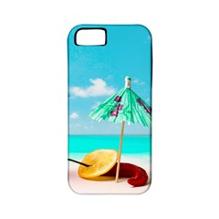 Red Chili Peppers On The Beach Apple Iphone 5 Classic Hardshell Case (pc+silicone) by FunnyCow