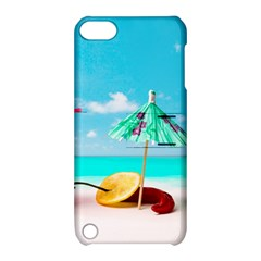 Red Chili Peppers On The Beach Apple Ipod Touch 5 Hardshell Case With Stand by FunnyCow