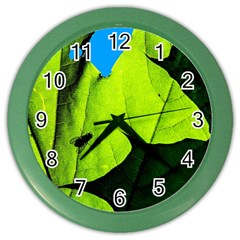 Window Of Opportunity Color Wall Clock by FunnyCow