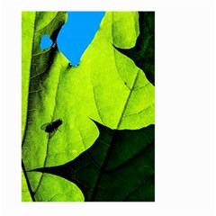 Window Of Opportunity Large Garden Flag (two Sides) by FunnyCow
