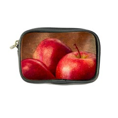 Three Red Apples Coin Purse