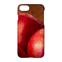 Three Red Apples Apple Iphone 7 Hardshell Case by FunnyCow