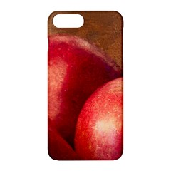 Three Red Apples Apple Iphone 8 Plus Hardshell Case