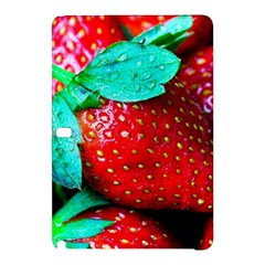 Red Strawberries Samsung Galaxy Tab Pro 10 1 Hardshell Case by FunnyCow