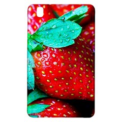 Red Strawberries Samsung Galaxy Tab Pro 8 4 Hardshell Case by FunnyCow