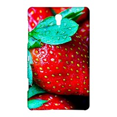 Red Strawberries Samsung Galaxy Tab S (8 4 ) Hardshell Case  by FunnyCow