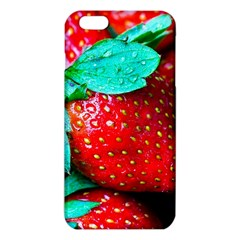 Red Strawberries Iphone 6 Plus/6s Plus Tpu Case by FunnyCow