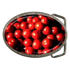 Pile Of Red Tomatoes Belt Buckles by FunnyCow
