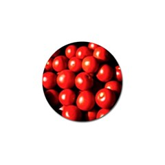 Pile Of Red Tomatoes Golf Ball Marker by FunnyCow