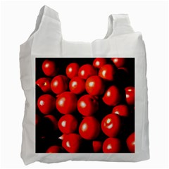 Pile Of Red Tomatoes Recycle Bag (one Side) by FunnyCow