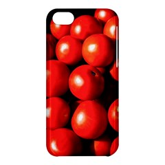 Pile Of Red Tomatoes Apple Iphone 5c Hardshell Case by FunnyCow