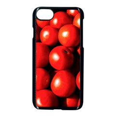 Pile Of Red Tomatoes Apple Iphone 8 Seamless Case (black) by FunnyCow