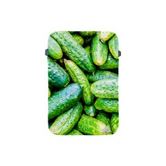 Pile Of Green Cucumbers Apple Ipad Mini Protective Soft Cases by FunnyCow