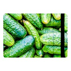 Pile Of Green Cucumbers Apple Ipad 9 7 by FunnyCow