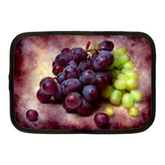 Red And Green Grapes Netbook Case (medium) by FunnyCow