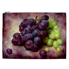 Red And Green Grapes Cosmetic Bag (xxl)