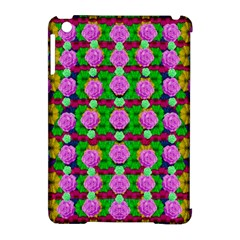 Roses And Other Flowers Love Harmony Apple Ipad Mini Hardshell Case (compatible With Smart Cover) by pepitasart