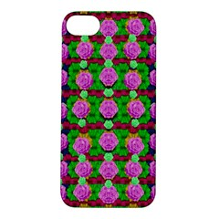 Roses And Other Flowers Love Harmony Apple Iphone 5s/ Se Hardshell Case by pepitasart