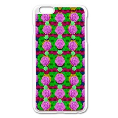 Roses And Other Flowers Love Harmony Apple Iphone 6 Plus/6s Plus Enamel White Case by pepitasart