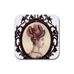 Frame 1775325 1280 Rubber Square Coaster (4 Pack)  by vintage2030