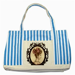 Frame 1775325 1280 Striped Blue Tote Bag by vintage2030