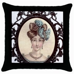 Frame 1775331 1280 Throw Pillow Case (black) by vintage2030