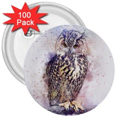 Bird 2552769 1920 3  Buttons (100 Pack)  by vintage2030