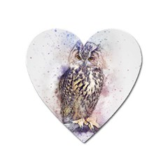 Bird 2552769 1920 Heart Magnet by vintage2030