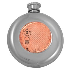 Body 1763255 1920 Round Hip Flask (5 Oz) by vintage2030