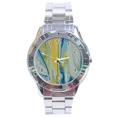Caribbean Stainless Steel Analogue Watch