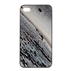 Black And White Apple Iphone 4/4s Seamless Case (black) by WILLBIRDWELL