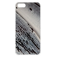 Black And White Apple Iphone 5 Seamless Case (white)