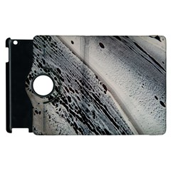 Black And White Apple Ipad 3/4 Flip 360 Case