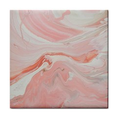Pink Clouds Tile Coasters