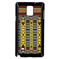 Shapes Rows                                    Samsung Galaxy Note 4 Case (white) by LalyLauraFLM