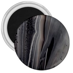 Black Marble 3  Magnets by WILLBIRDWELL