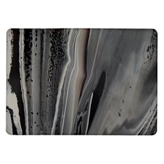 Black Marble Samsung Galaxy Tab 10 1  P7500 Flip Case by WILLBIRDWELL