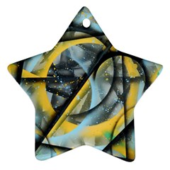 Foresight Star Ornament (two Sides) by WILLBIRDWELL