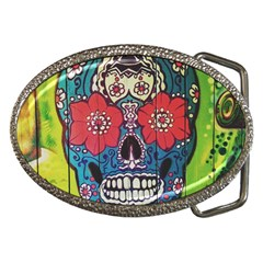 Mexican Skull Belt Buckles by alllovelyideas