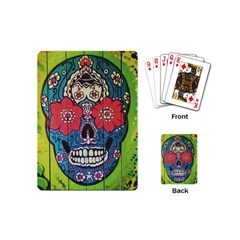 Mexican Skull Playing Cards (mini) by alllovelyideas