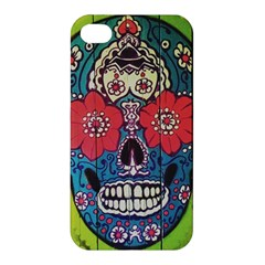 Mexican Skull Apple Iphone 4/4s Hardshell Case by alllovelyideas