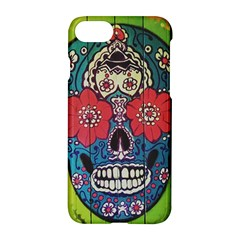 Mexican Skull Apple Iphone 8 Hardshell Case