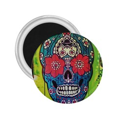 Mexican Skull 2 25  Magnets by alllovelyideas