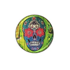 Mexican Skull Hat Clip Ball Marker (4 Pack) by alllovelyideas