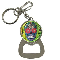 Mexican Skull Bottle Opener Key Chains by alllovelyideas