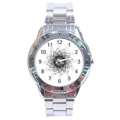 Mandala Misic Stainless Steel Analogue Watch by alllovelyideas